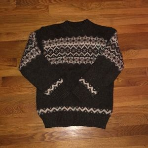 Pure wool danish hand knit sweater